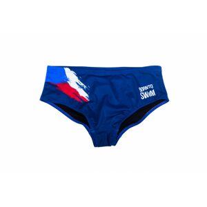 Born To Swim Pánské Plavky Cze Barva: Modrá, Velikost: S